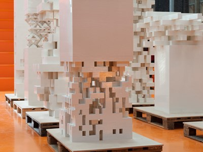 Porous City Lego Towers
