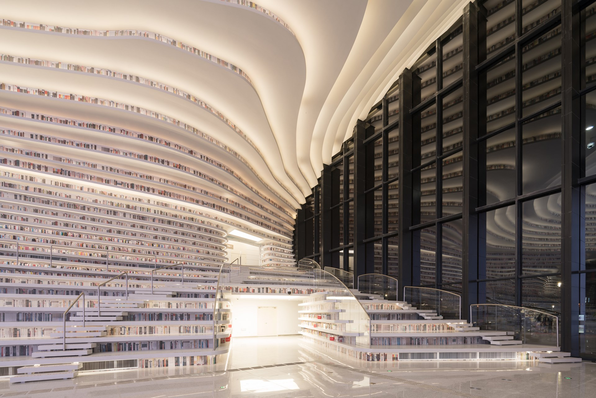 MVRDV - Tianjin Binhai Library
