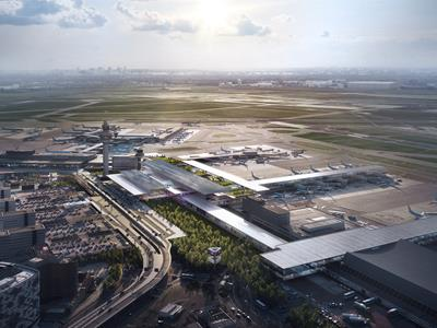 Schiphol Airport Terminal Area A