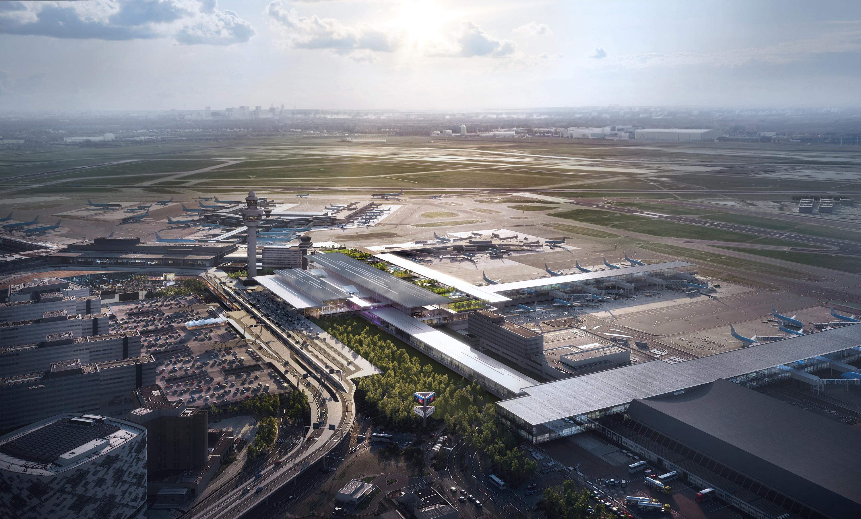 Schiphol Airport Terminal Area A