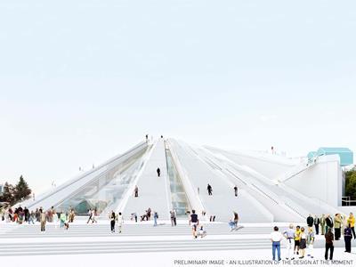 The Pyramid of Tirana