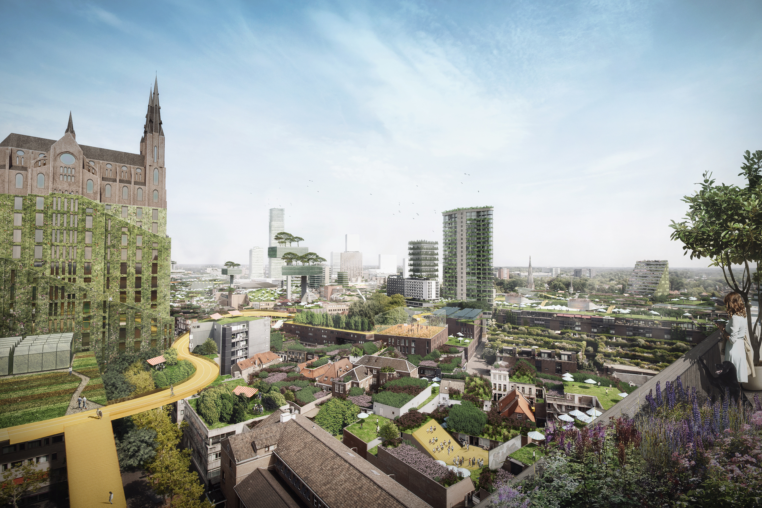 Supervision of Eindhoven City Center